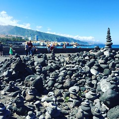 "Playa Jardin""s rock shrine garden via @ShayMeinecke"