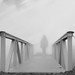 Footbridge in the fog. by dziurek