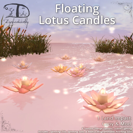 Floating Lotus Candles - TeleportHub.com Live!