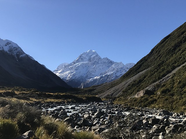 Signs of Mt Cook