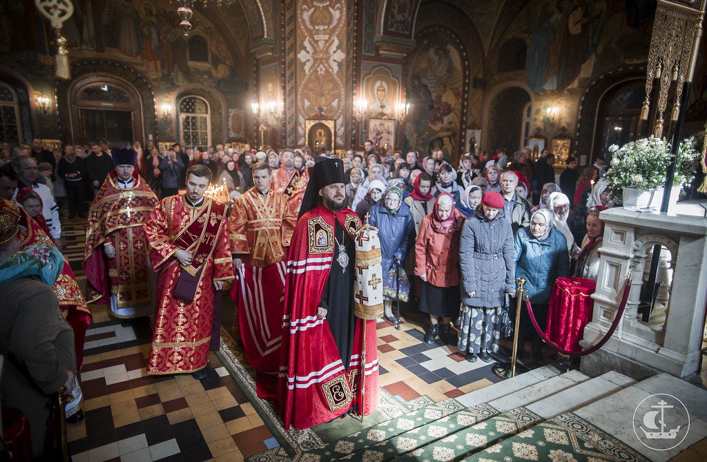 14 мая 2017, Литургия в Петергофе / 14 May 2017, Divine Liturgy in Peterhof