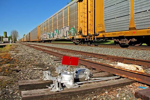 csx csxtrains csxmtvictorysubdivision greenwichohio switches autoracktrains csxautoracktrains tracks railroadtracks