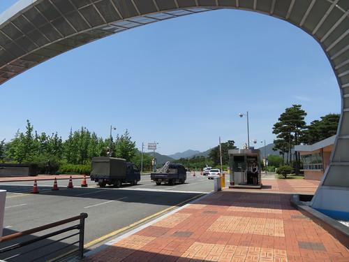 レッツランパーク釜山慶南の入場ゲート