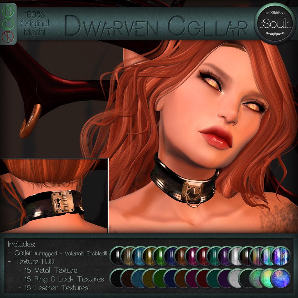 .:Soul:. Dwarven Collar - SecondLifeHub.com