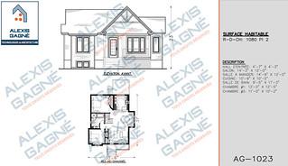 Plan de maison 1 étage - MM1e.09