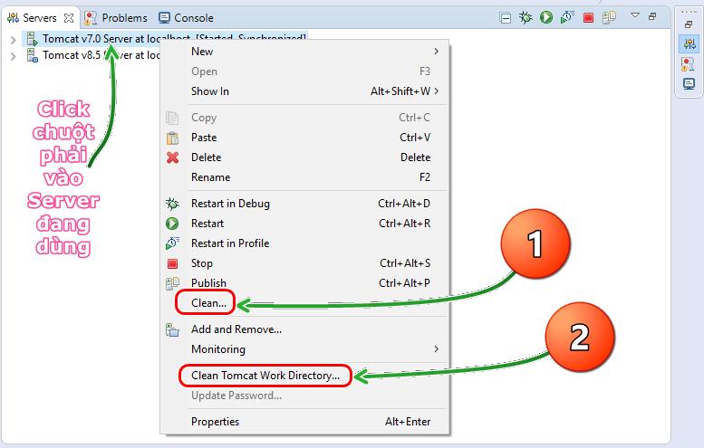 Thông báo lỗi Etat HTTP 404 trong Java Web - Chuyện gì đang xảy ra