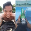 After few hours swimming at the beach.. one ice cold #Heineken at the pool side :beer::sunglasses::ok_hand:.. #Phuket #Thailand #travel #adventure #backpacker #dopetravel