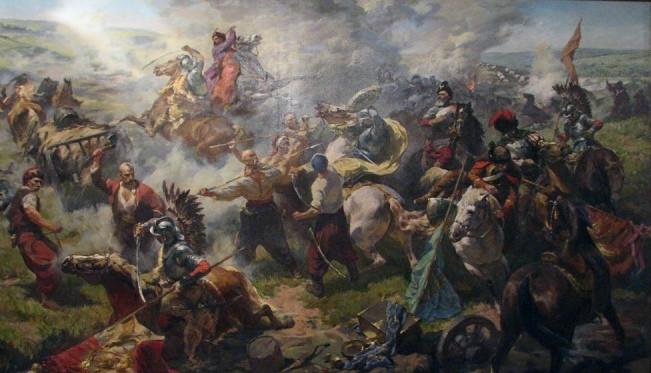 Battle of Zhovti Vody, by Sanitskiy