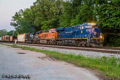 NS 8103   GE ES44AC   NS Memphis District