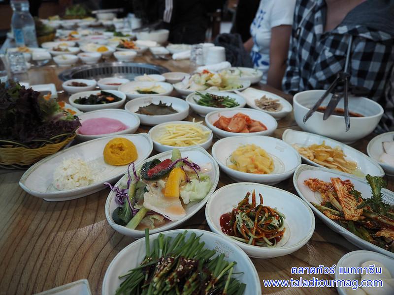 ปลาไหลย่างเกาหลี เมืองคังฮวา เกาหลีใต้