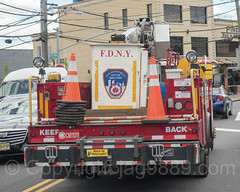 FDNY Communications Truck, East Bronx, New York City