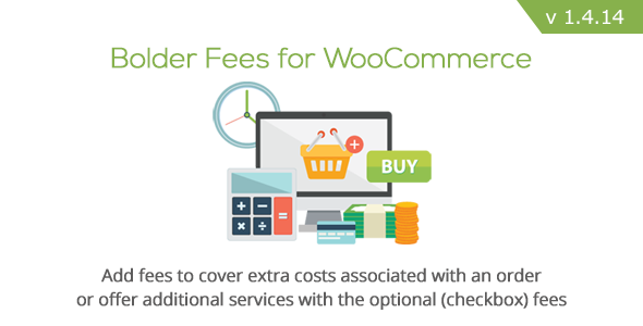 Bolder Fees v1.4.14 for WooCommerce