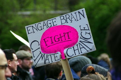 Engage Brain - Fight Climate Change | by greenoid
