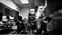 🍜 . . #bnw #bnwmood #bnwphotography #blackandwhite #blackandwhitephotography #monochrome #kitchen #cooking #chef #ramen #people #peoplewatch #whatsupmen #fullerton