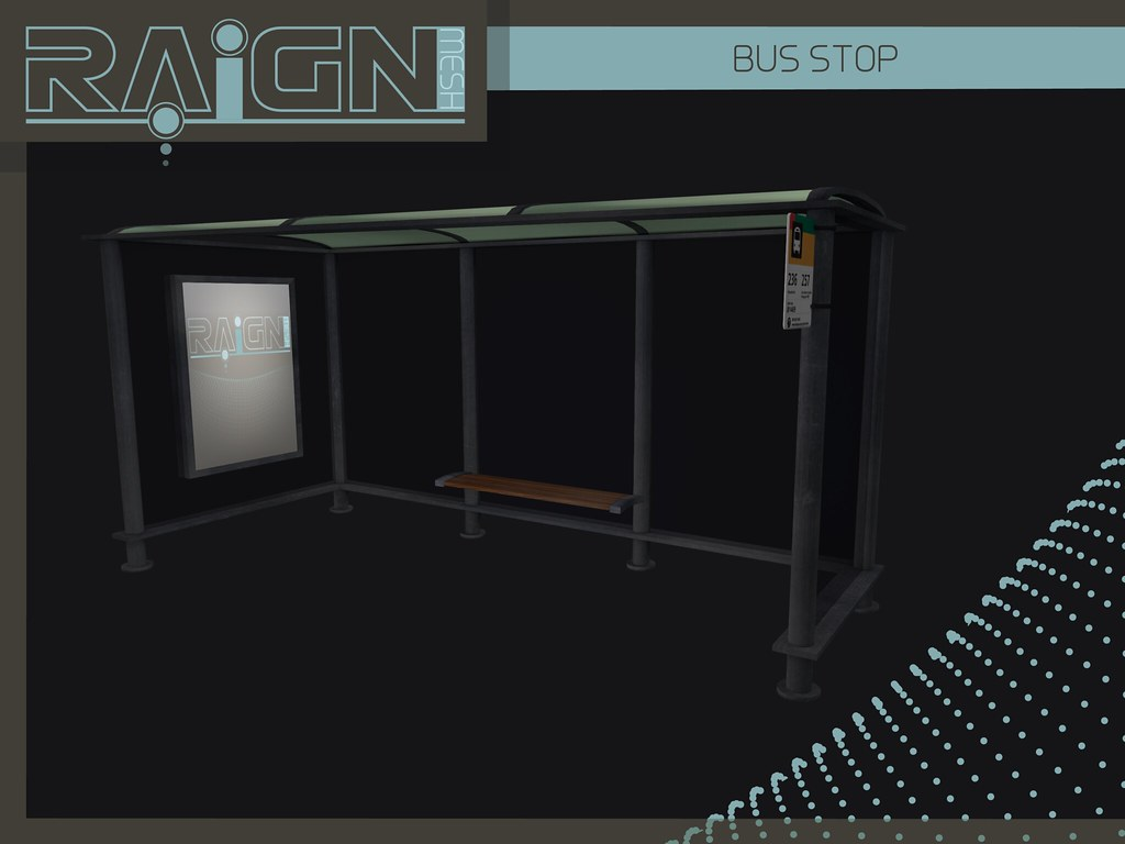 Bus Stop - SecondLifeHub.com