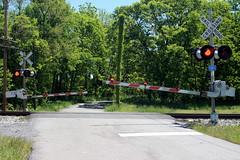 Luther Jones Road crossing, Shenandoah Junction, WV