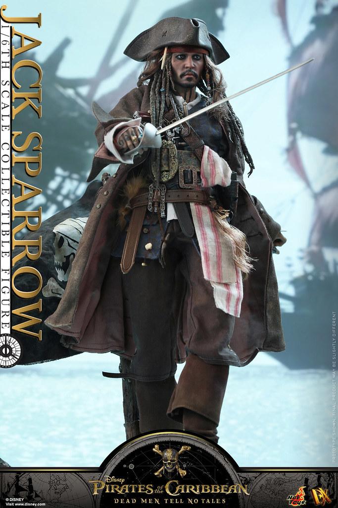Hot Toys - DX15 - 《神鬼奇航5:死無對證》1/6 比例 傑克·史派羅 Pirates of the Caribbean: Dead Men Tell No Tales Jack Sparrow
