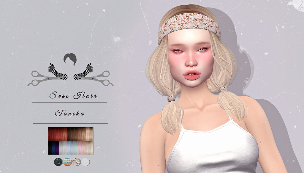 Sese Tanika Hair @ Whimsical - SecondLifeHub.com