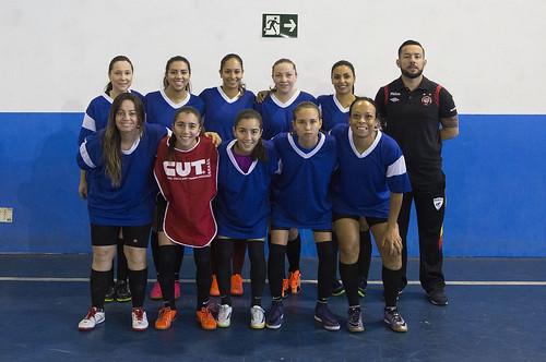 1ª rodada da 3ª Copa Bancária de Futsal Feminino