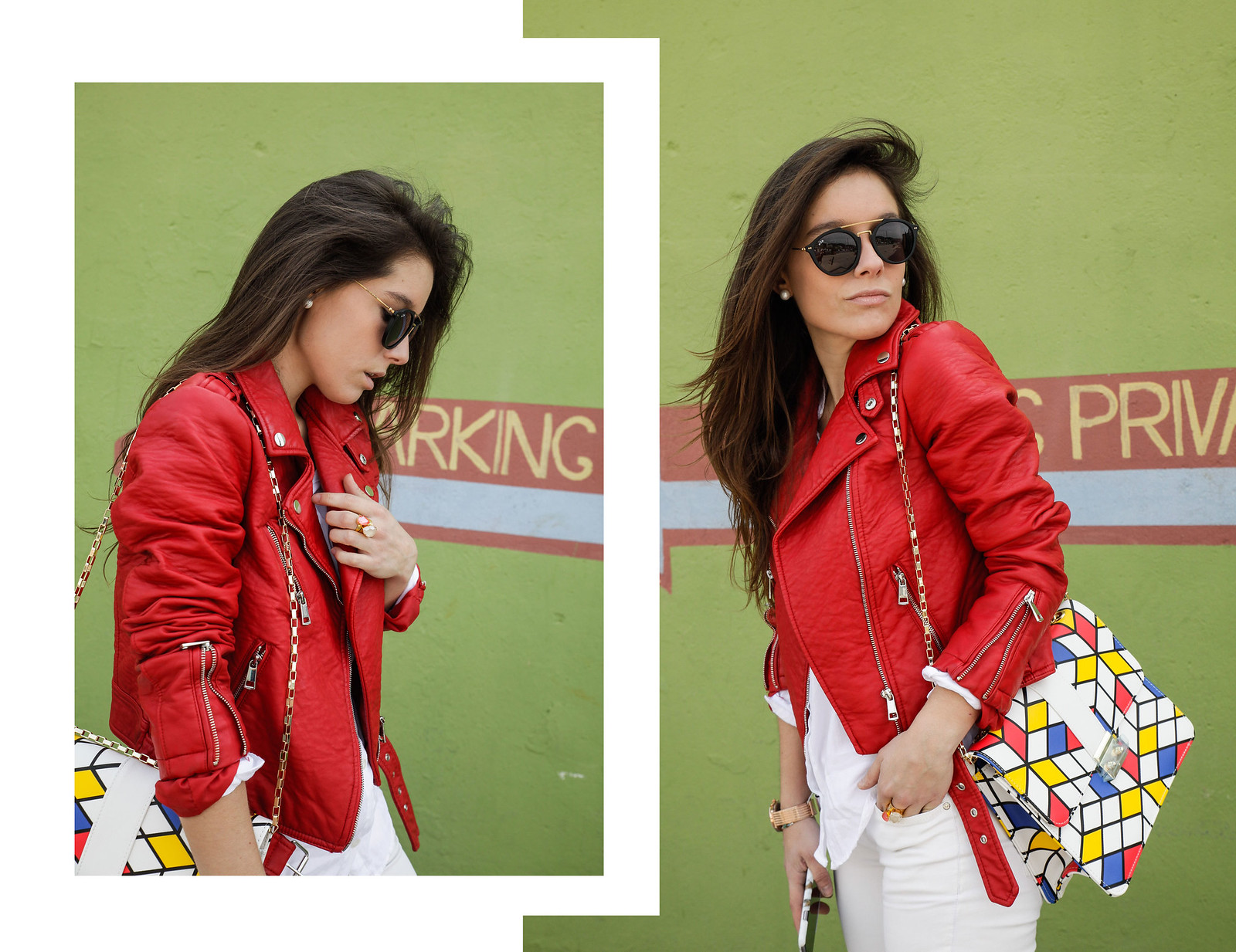 09_Red_Biker_Casual_Look_theguestgirl