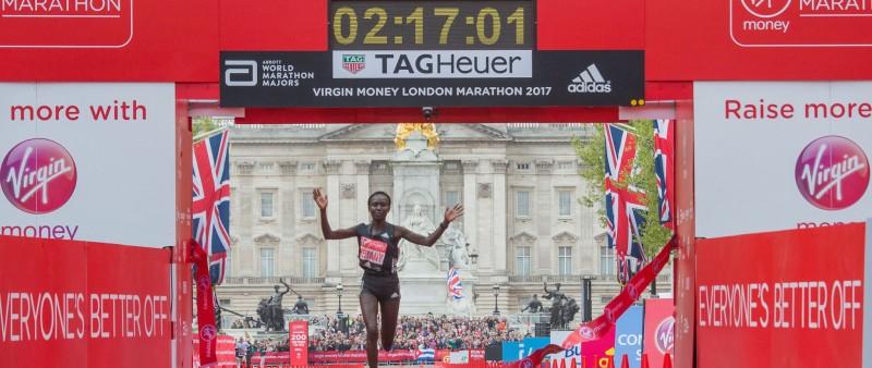 Vítězem Londýnského maratonu Wanjiru