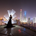 Shanghai light-painting by ericpare