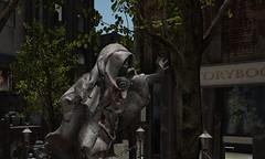 DRD Human Spirit Statue