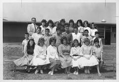 Park Oaks elementary school class