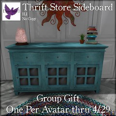 [ free bird ] Thrift Store Sideboard FFA Ad