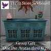 [ free bird ] Thrift Store Sideboard FFA Ad