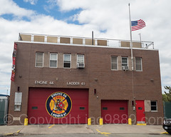 FDNY Firehouse Engine 66 and Ladder 61, Co-op City, Bronx, New York City