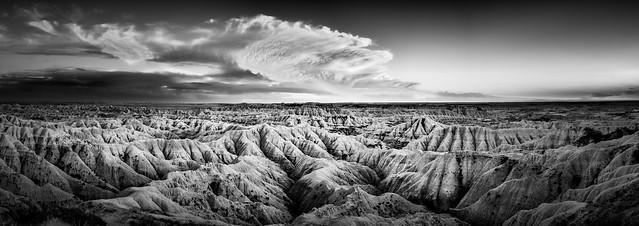 Badlands NP Sunset 11.4, Nikon D810, AF-S Zoom-Nikkor 14-24mm f/2.8G ED