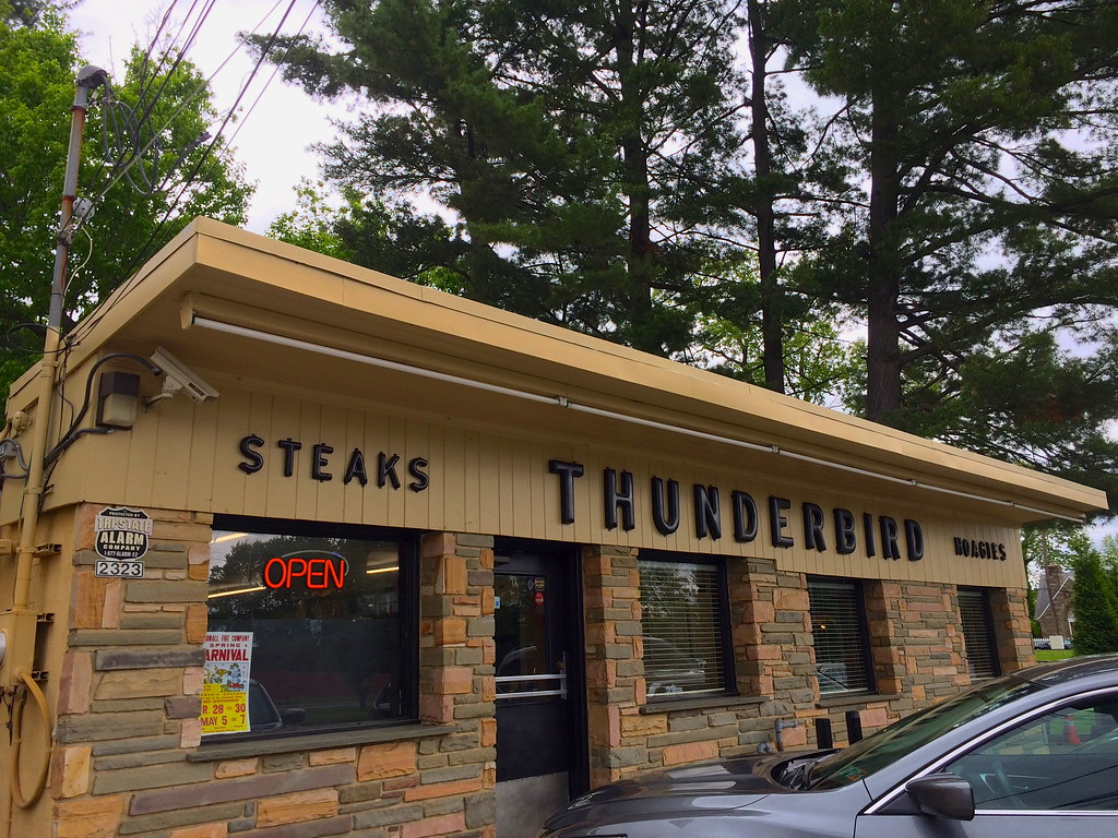 Thunderbird Steak House Broomall, PA - Pennsylvania - Retro Roadmap 2017