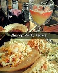 #Shrimp #puffytacos #margaritas #myfoodporn #lunch #tacogarage #eatme