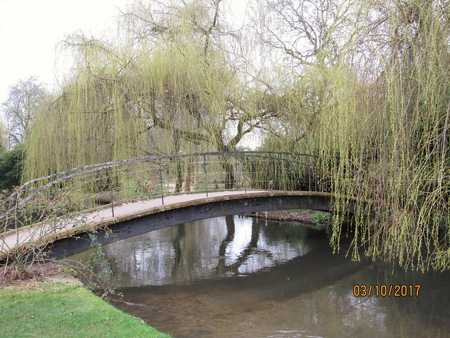 Mottisfont bridge #reflection, Canon POWERSHOT SX530 HS