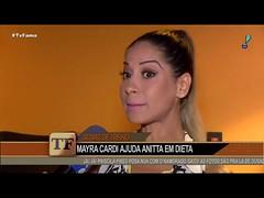 """Mayra Cardi elogia projeto fitness de Anitta: """"Ela é super focada"""""""