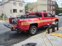 FDNY Brush Fire Unit 8 Truck, Eastchester, Bronx, New York City