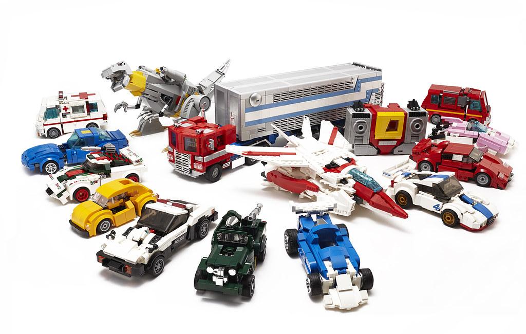 Autobots roll out! (custom built Lego model)