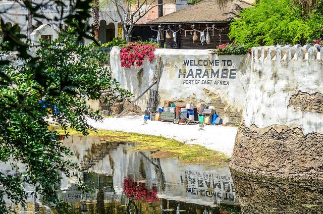 Harambe wall river AK