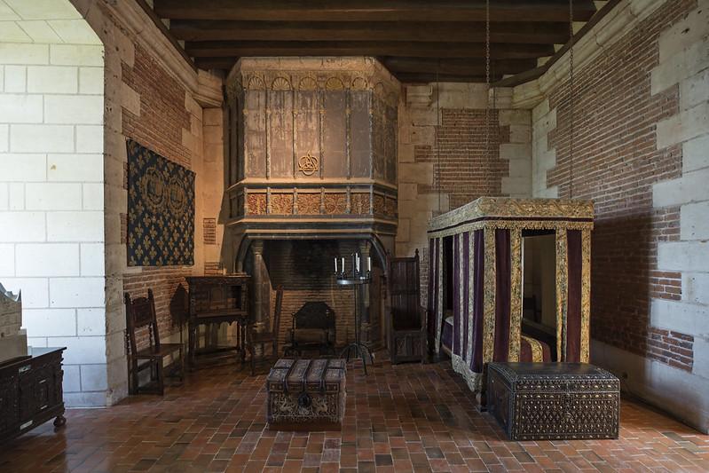 Chambre de Catherine de Médicis, Château de Chaumont-sur-Loire, 2017