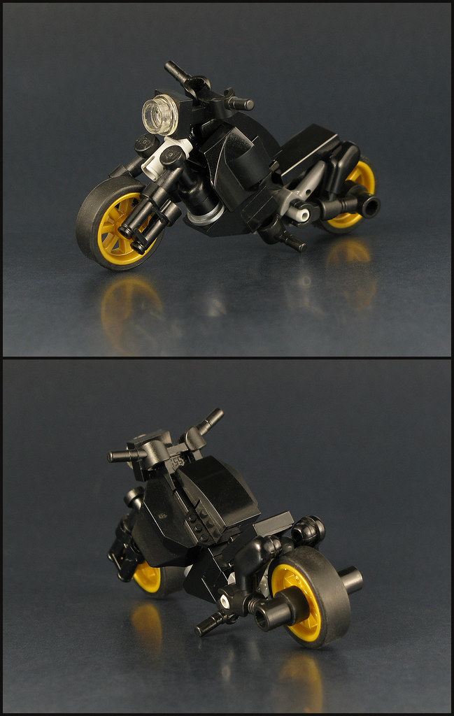 Midnight Cruiser (custom built Lego model)