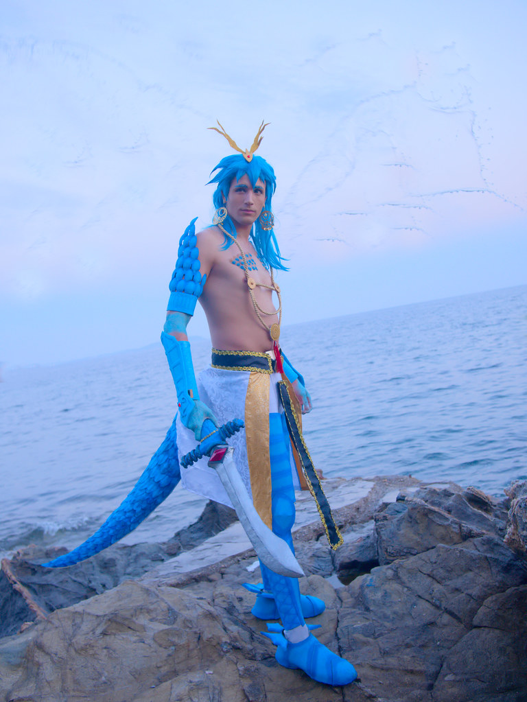 related image - Shooting Magi The Labyrinth of Magic - Plage de la Mître - Le Mourillon - 2017-04-14- P2040016