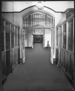Students' room, Public Archives of Canada, Sussex Street, Ottawa, Ontario / Salle des étudiants, Archives publiques du Canada, rue Sussex, Ottawa (Ontario)