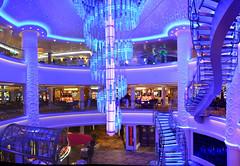 An Atrium On The Norwegian Getaway Cruise Ship. Nikon D3100. DSC_0015-0024.