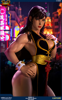 Pop Culture Shock 【春麗】1/3比例雕像 戰鬥服限定版 CHUN LI 1:3 Statue Battle Dress Exclusive