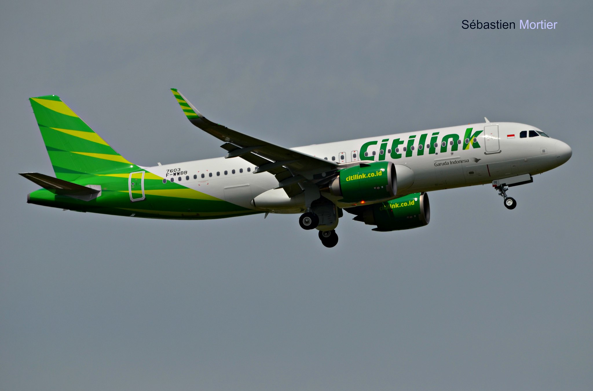 A320 251n citilink f wwbb pk gte msn 7603 a320 family archive reheart Image collections