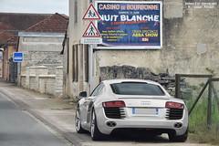 Audi R8 - Photo of Signéville