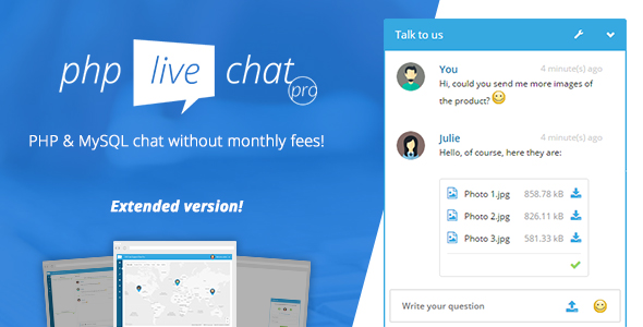 PHP Live Chat Pro v1.0