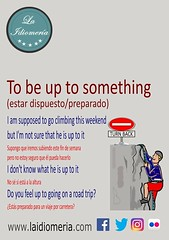 Are you up to improve your English?  #laidiomeria #tobeupto #climbing #mountain #roadtrip #weekend #feeling #noentry #turnback #funny #divertente #idiomas #escalar