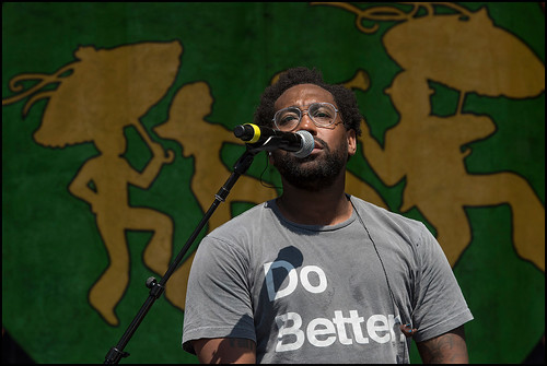 PJ Morton at Jazz Fest Day 5 on May 5, 2017. Photo by Ryan Hodgson-Rigsbee www.rhrphoto.com
